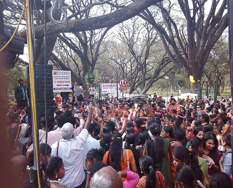 The One Billion Rising in Bangalore