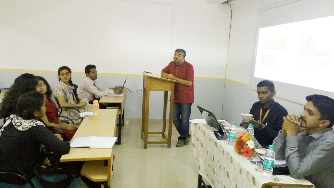 Impact of Technology in Social Sector - Workshop at Kristu Jayanti College